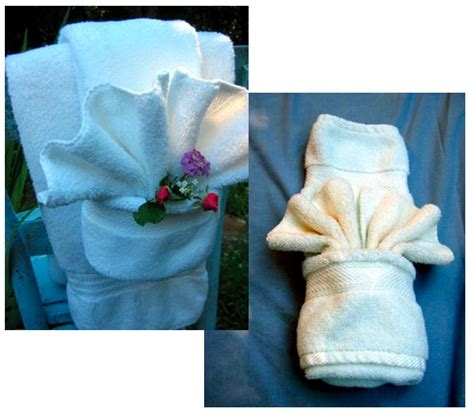 towel folding ideas for bathrooms how to fancy towel folding curbly