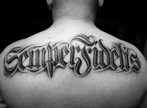 semper fi tattoo semper fidelis flickr photo