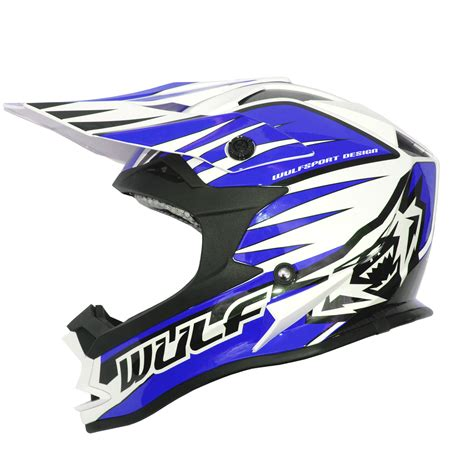 light motocross helmet wulf sport advance racing lightweight acu gold motocross