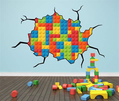 lego stickers for wall lego themed bedroom ideas wall