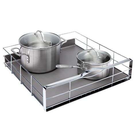 kitchen cabinet pull out organizer simplehuman 174 20 quot pull out cabinet organizer the