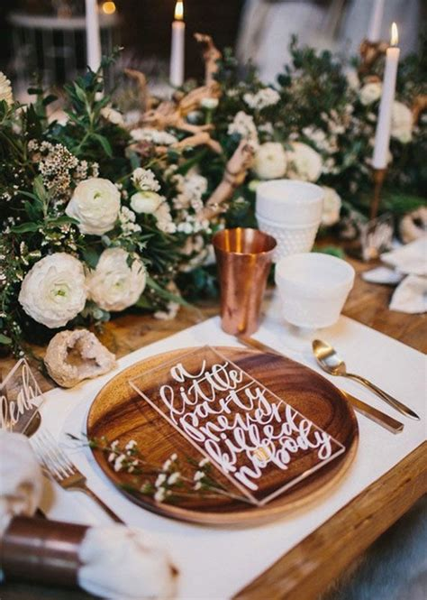 wedding table setting ideas 31 wedding table setting ideas for couples