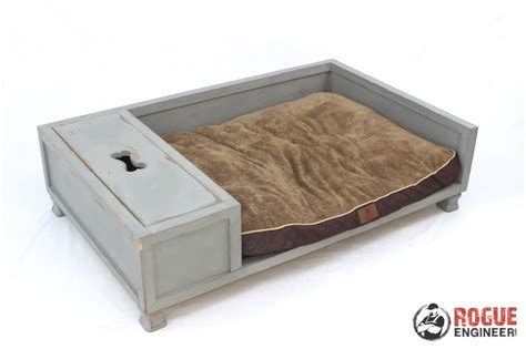 dog bed plans diy large dog bed plans rogue engineer