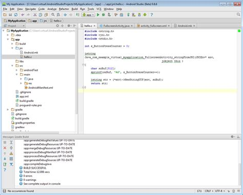 tutorial android jni co debugging jni with android studio and visual studio 布布扣