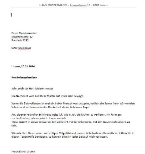 Vorlage Schenkungsvertrag Schweiz Kondolenzschreiben Vorlage Muster Und Vorlagen Kostenlos