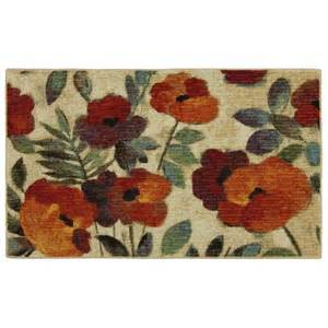 Kitchen Rugs by Mohawk 174 Home August Garden Floral Kitchen Rug Kitchen