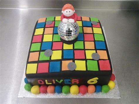 Floor Cake by Disco Floor 6th Birthday Cake Crumbs Cake Shop Sheffield