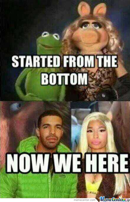 Started From The Bottom Meme - started from the bottom by appiekje meme center