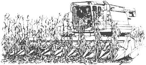 Coloriage De Machine Agricole