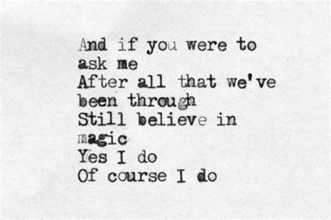 coldplay magic lyrics i believe in magic quotes quotesgram