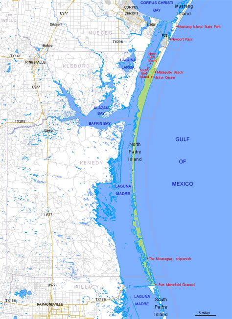 map of texas south padre island padre island texas map picture image by tag keywordpictures