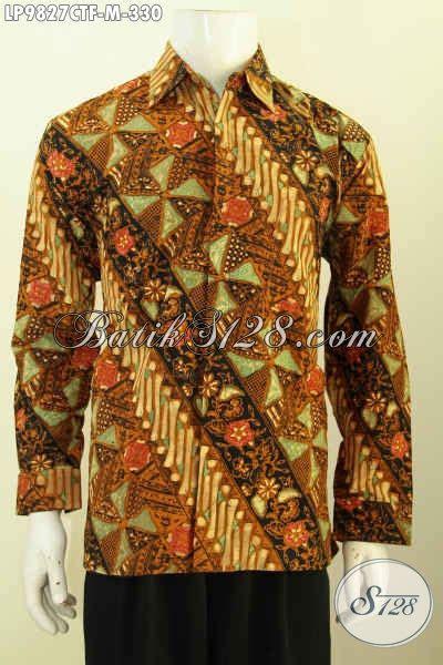 Baju Korpri Wanita Furing Size batik kemeja pria terbaru furing size m baju batik lengan panjang motif bagus proses