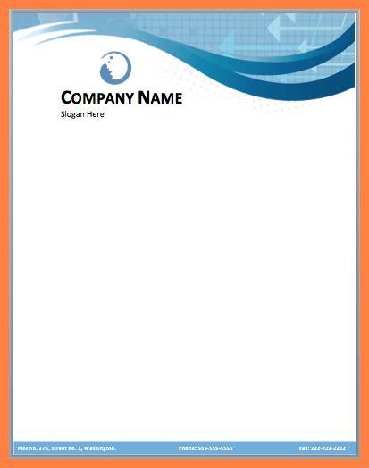 12 Company Letterhead Templates Word Company Letterhead Company Letterhead Template Word 2