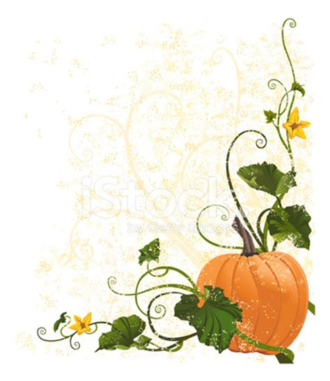 grunge pumpkin vine stock vector freeimages.com