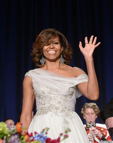 michelle obama white house correspondents dinner michelle obama white house correspondents dinner 2014 dress off the shoulder