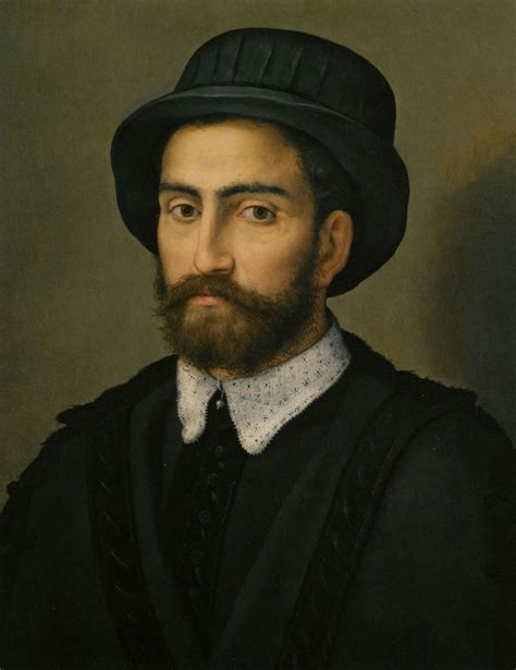 16th century men hats a man with a black coat and hat painting by pier