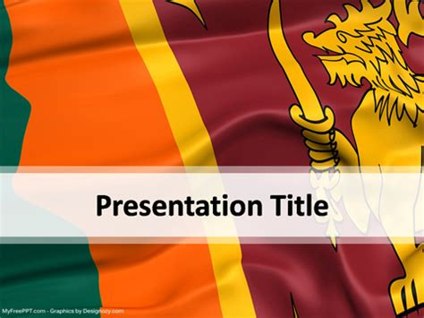 sri lanka powerpoint template   powerpoint