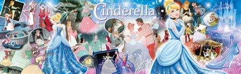 Best Terlaris Puzzle Jigsaw Disney Princess Panorama 1000 Pcs Sni disney panorama world of cinderella jigsaw puzzle