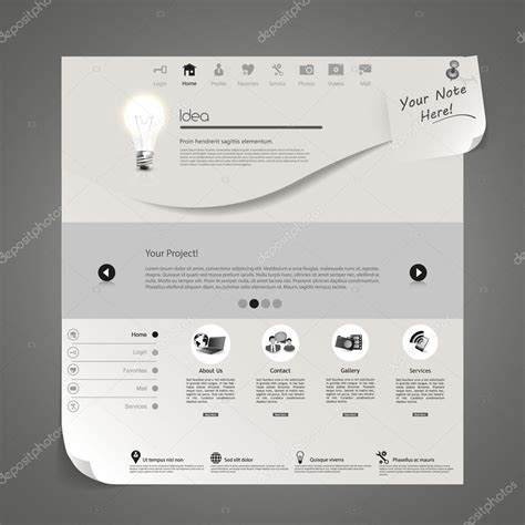 layout design minimal minimal layout design stock vector 169 droidworker 87579502