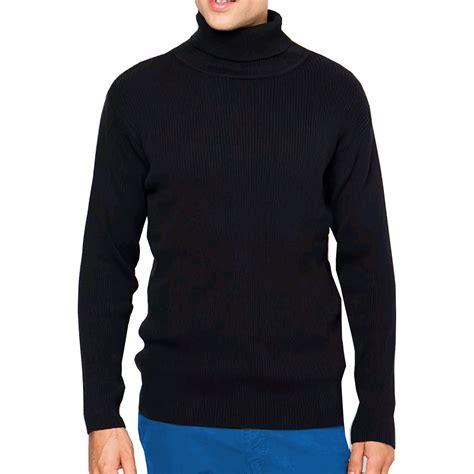 Sweater Basic Sweater Polos sweater polos kerah tinggi rajutan basic panjang