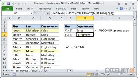 Pdf Index Match excel formula exact match lookup with index and match