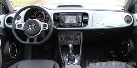 white volkswagen inside 2015 volkswagen beetle review the automotive review