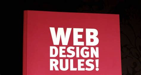 homepage design rules 12 website designing tips