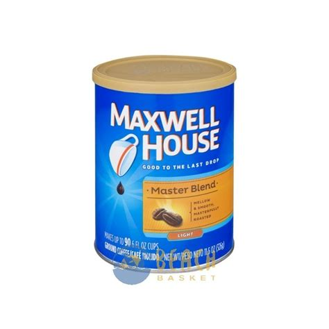 Maxwell House by Maxwell House Coffee Grounds Light Roast Master Blend
