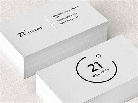 design logo name card 75 minimal business cards designs for inspiration