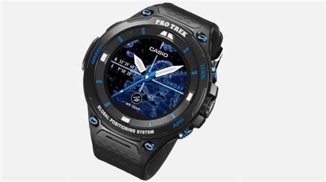 Casio Smartwatch Android casio pro trek smart wsd f20s specs price release date