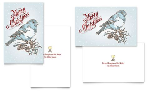 free printable christmas cards templates