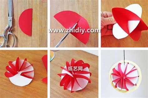 How To Do And Craft With Paper - 儿童节手工纸艺灯笼制作方法图解教程 纸艺网