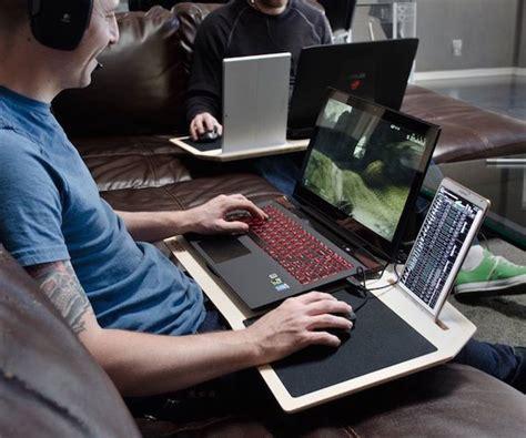 best laptop desk for gaming gamers desk gearnova