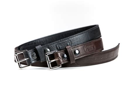Buffalo Leather by Black Brown Buffalo Leather Belts Made In America
