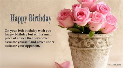 Happy Birthday Wishes To Sweet Sweet 16th Birthday Messages For Daughter Son Her Him