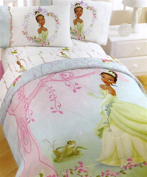 princess frog comforter set 5pc disney bedding set