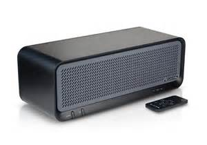 jlab bouncer premium home bluetooth speaker black w remote