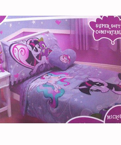 my little pony bed set my little pony canterlot 4 pc toddler bedding set