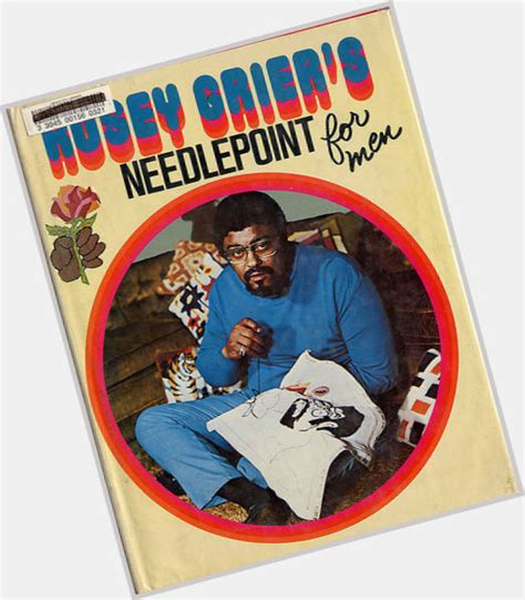 rosey grier knitting roosevelt grier official site for crush monday mcm