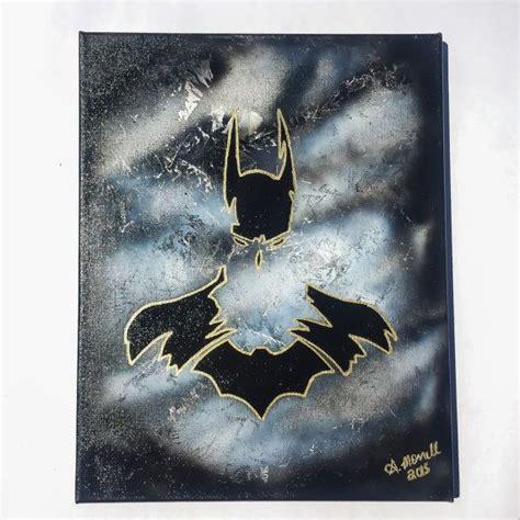 spray paint batman 1000 ideas about batman painting on batman