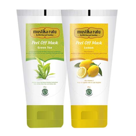 Harga Mustika Ratu Peeling Gel Green Tea 2 pcs mustika ratu duo care peeling gel dan peel