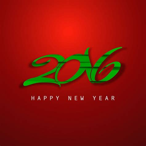 new year colors to avoid color new year 2016 card vector free