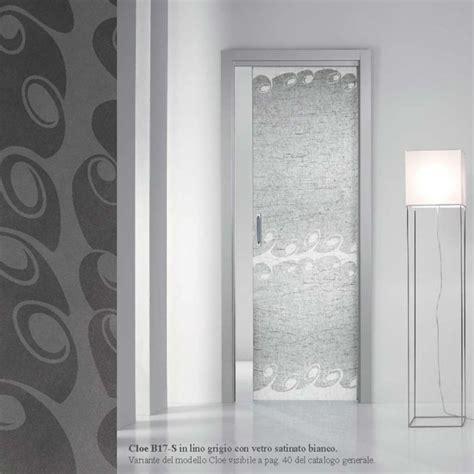 porta interna vetro porta scorrevole interna vetro satinato bianco mdb