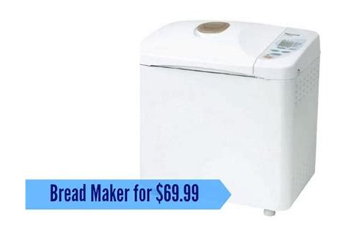 bread maker deals