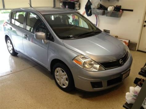 nissan versa light blue purchase used 2011 nissan versa s hatchback 4 door 1 8l