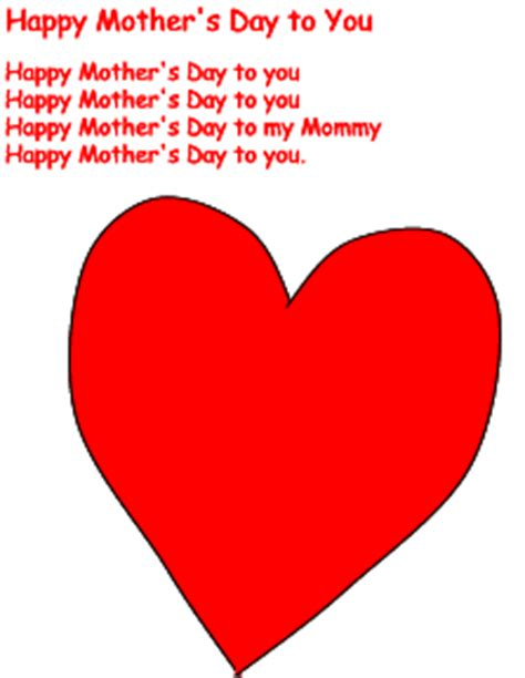 mothers day songs happy s day to you