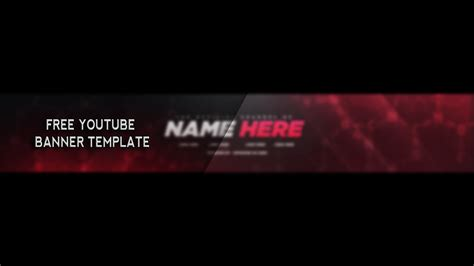templates for youtube youtube banner template download best business template