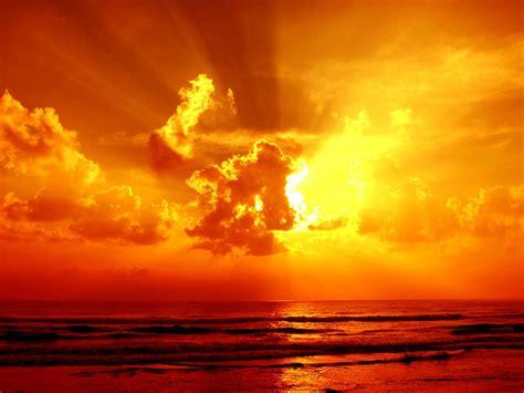 sunset orange clouds sea sky sunset orange color 1920x2560