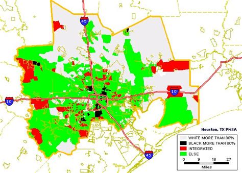 houston density map black white housing patterns in houston