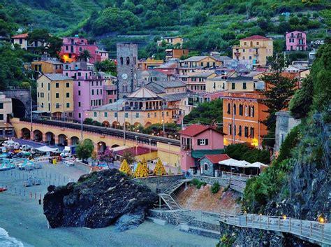 hotel porto roca monterosso al mare view of monterosso al mare italy from the hotel porto roc